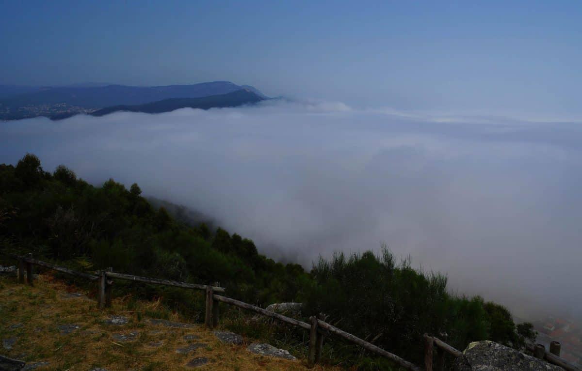 moisture, mountain, landscape, sky, daylight, water, fog, outdoor