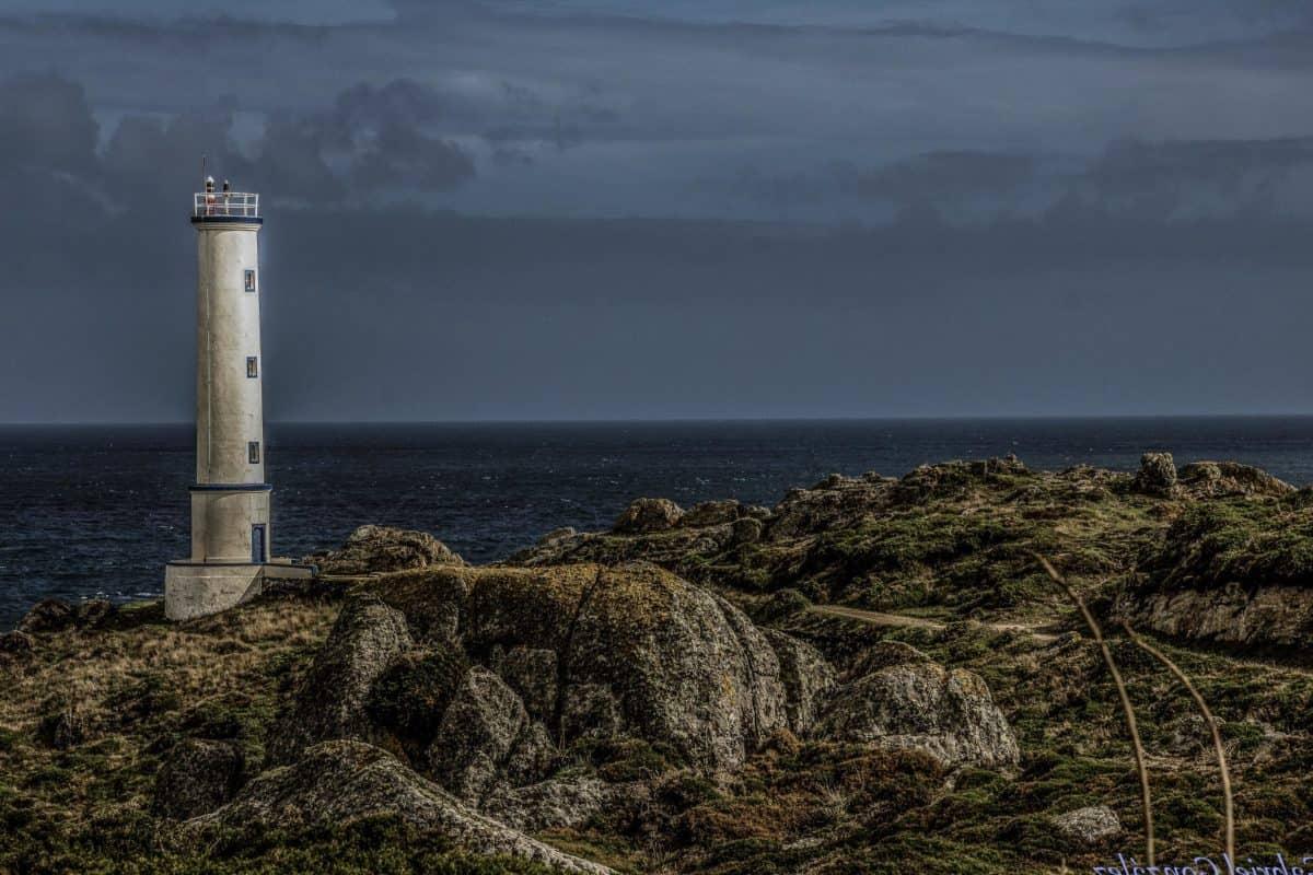beacon, coastline, sea, lighthouse, landscape, beach, water, seashore, ocean