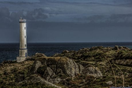 beacon, coastline, sea, lighthouse, landscape, beach, water, seashore, ocean
