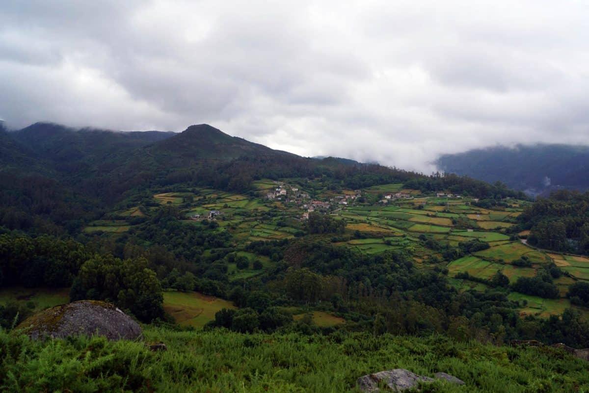 montagne, nature, ciel, colline, paysage, extérieur, herbe