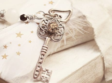 still life, book, decoration, gift, key, metal, pendant, design, art, star