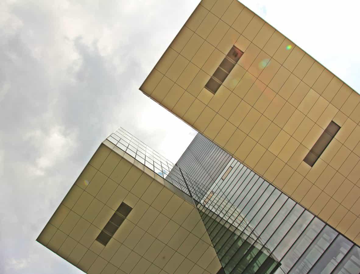 Stadt, Architektur, Himmel, Wolke, Modern, Fenster, urban, Glas