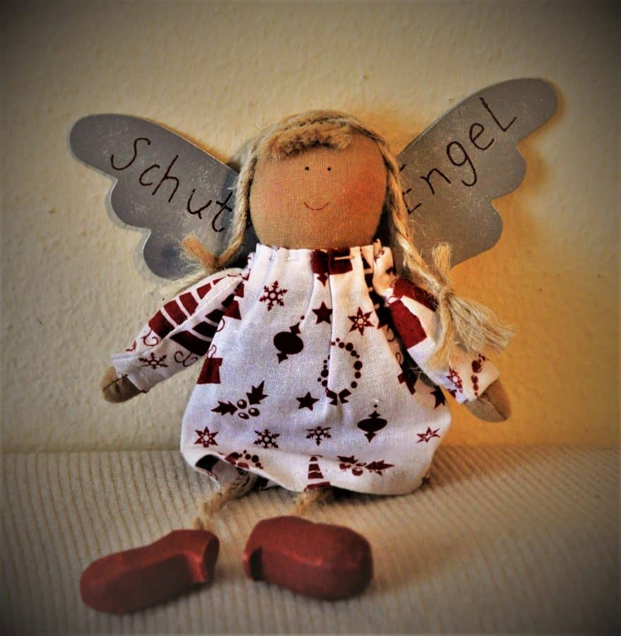 toy, object, doll, angel, indoor, textil