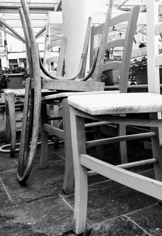 chaîne, monochrome, objet, mobilier, plancher,
