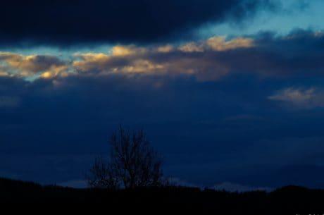 Природа, закат, пейзаж, закат, небо, ночь, Рассвет, атмосфера