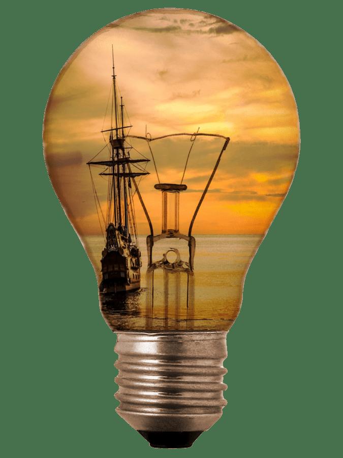 Fotomontage, Glühbirne, Inspiration, Energie, Strom, Lampe, Erfindung, Effizienz