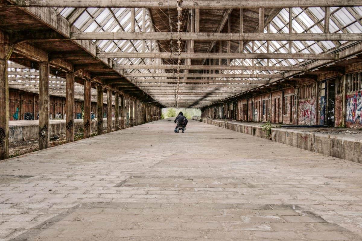 skladište, tvornica, radno mjesto, industrija, arhitektura, struktura, Ground