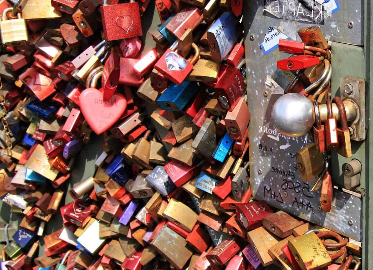 colorful, padlock, love, metal, loyalty, object