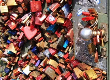 colorful, padlock, love, metal, loyalty, object