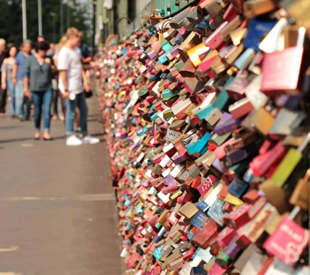 colorful, street, people, outdoor, outdoor, padlock, love, metal, loyalty