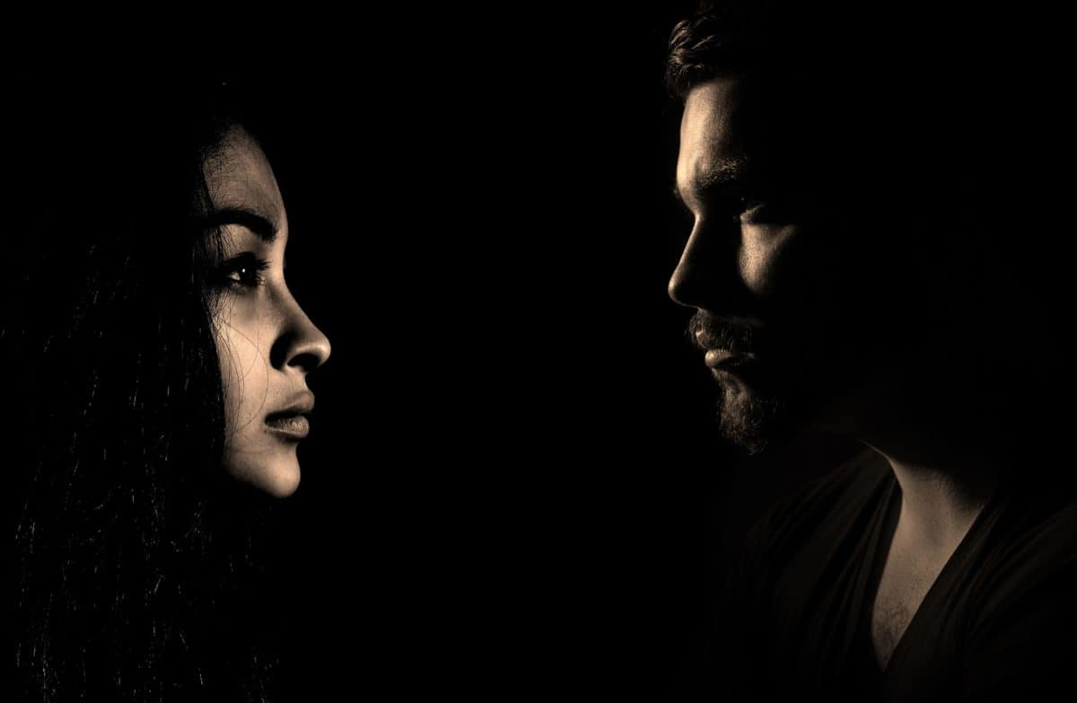 man, shadow, dark, darkness, portrait, profile, people, person, face, woman, art
