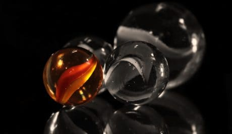 glas ball, object, reflection, transparent, abstract, dark