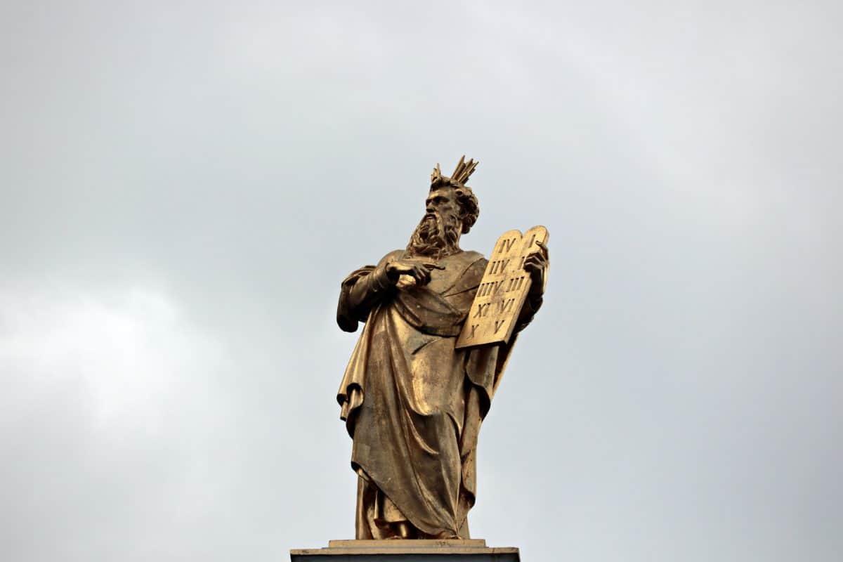 статуя, небе, скулптура, паметник, забележителност, религия