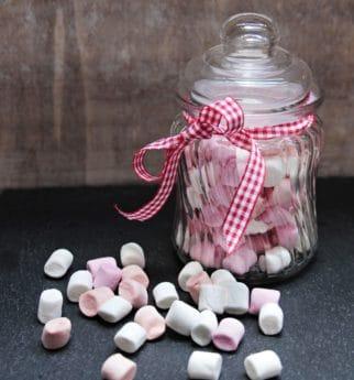 Glas, Süßigkeiten, Lebensmittel, süß, bunt, Dekoration, Objekt