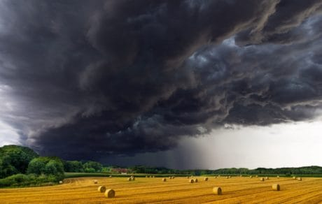 meteorology, storm, countryside, sky, landscape, nature, agriculture, cloudy