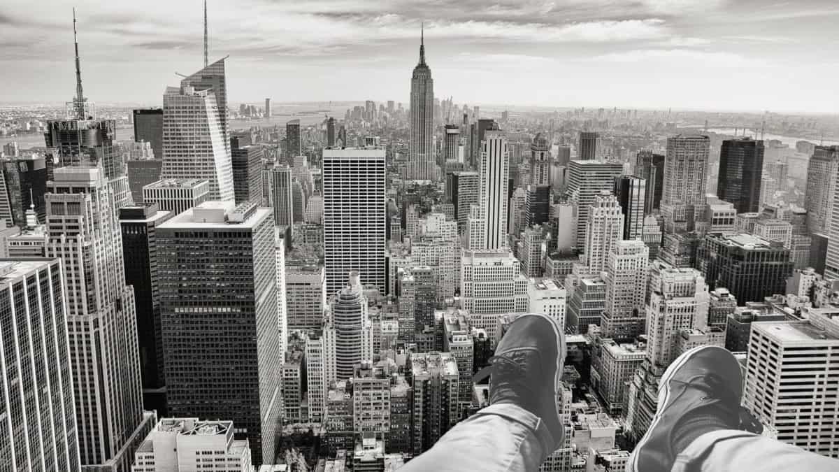 蒙太奇, 单色, 鞋, 城市, 城市景观, 都市, 建筑, 市中心, 塔, 地标
