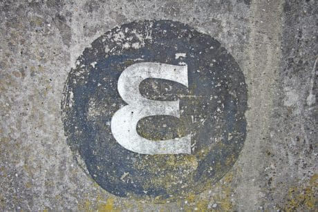 sign, symbol, typography, old, texture, stone, surface, concrete