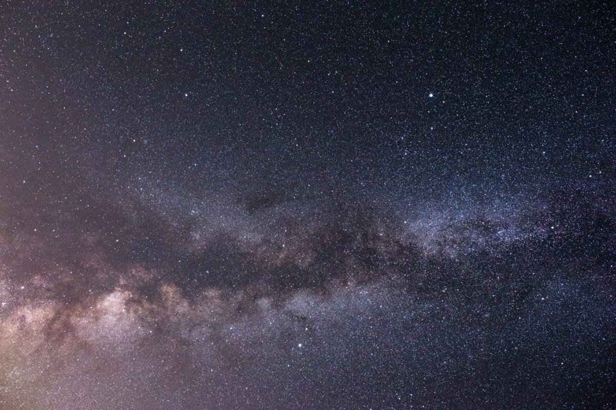 Dark, constellation, astronomie, exploration, galaxie