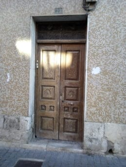 doorway, pavement, house, wood, entrance, architecture, door, old, wall