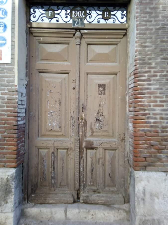 inngang, dør, hus, tre, vindu, døråpning, arkitektur