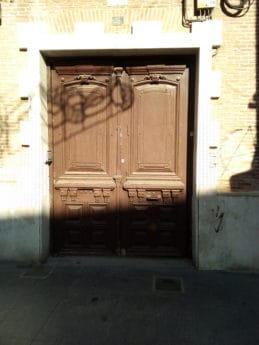 front door, shadow, sunshine, street, street, exterior, art, old