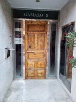 front door, entrance, building, architectural style, marble