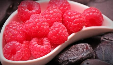 raspberry, delicious, food, fruit, sweet, berry, dessert
