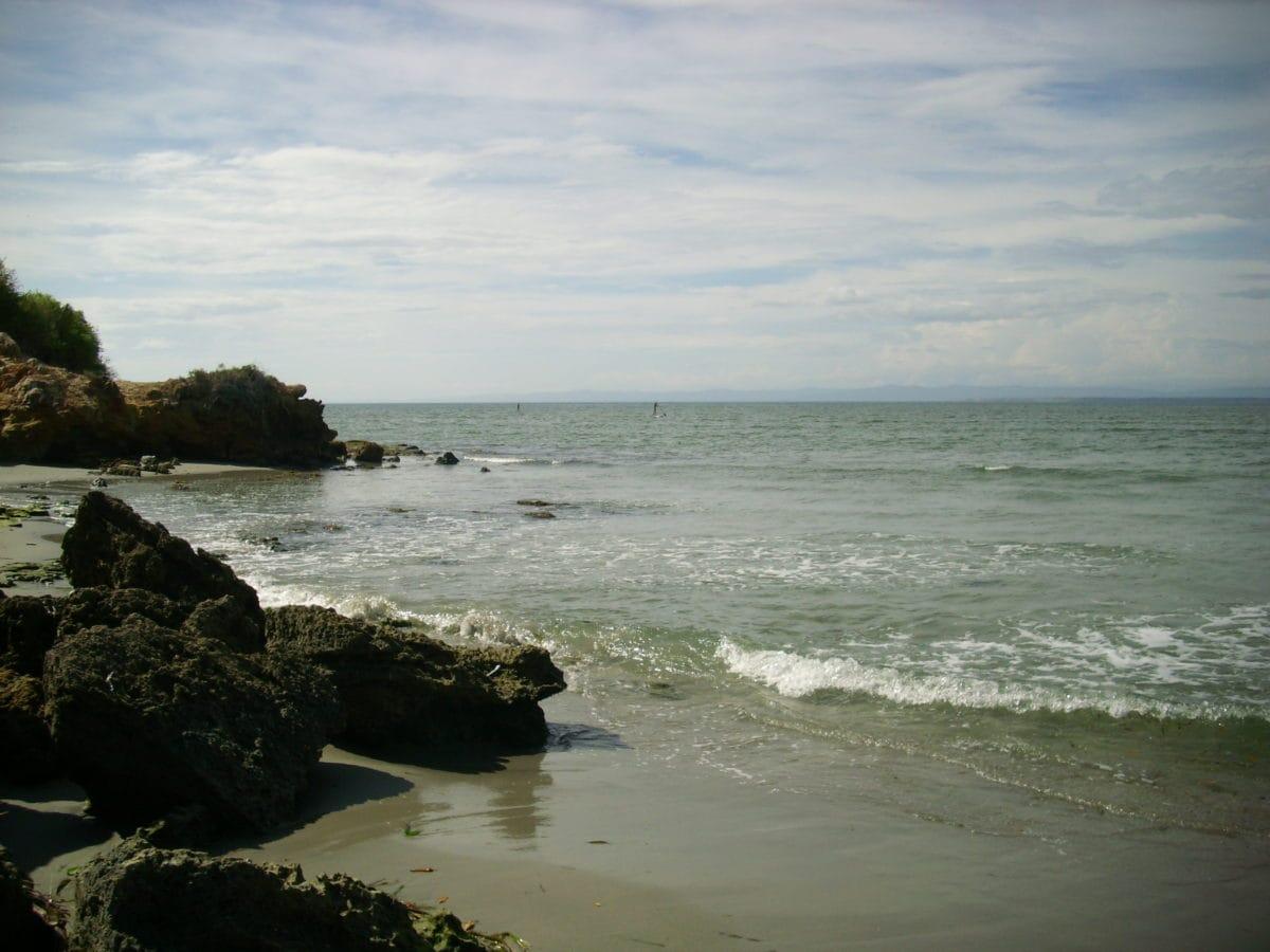 sea, seashore, water, landscape, ocean, beach, sunset, outdoor