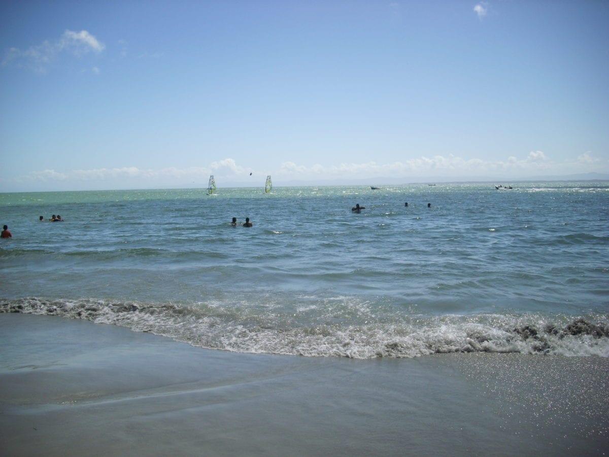 oceán, písek, pobřeží, moře, krajina, voda, pláž, moře