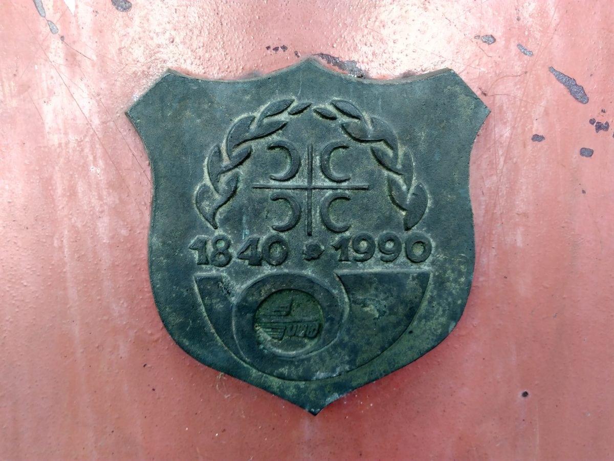 sign, bronze, art, old, metal, cast iron, detail, material
