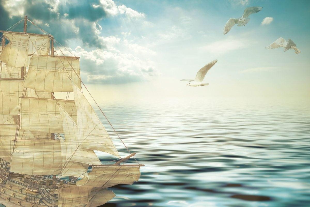 skib, vand, båd, fartøjer, hav, Ocean, sejlbåde, himmel
