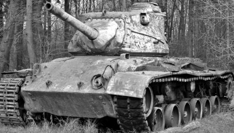 war, military tank, monochrome, old, weapon, army, vehicle