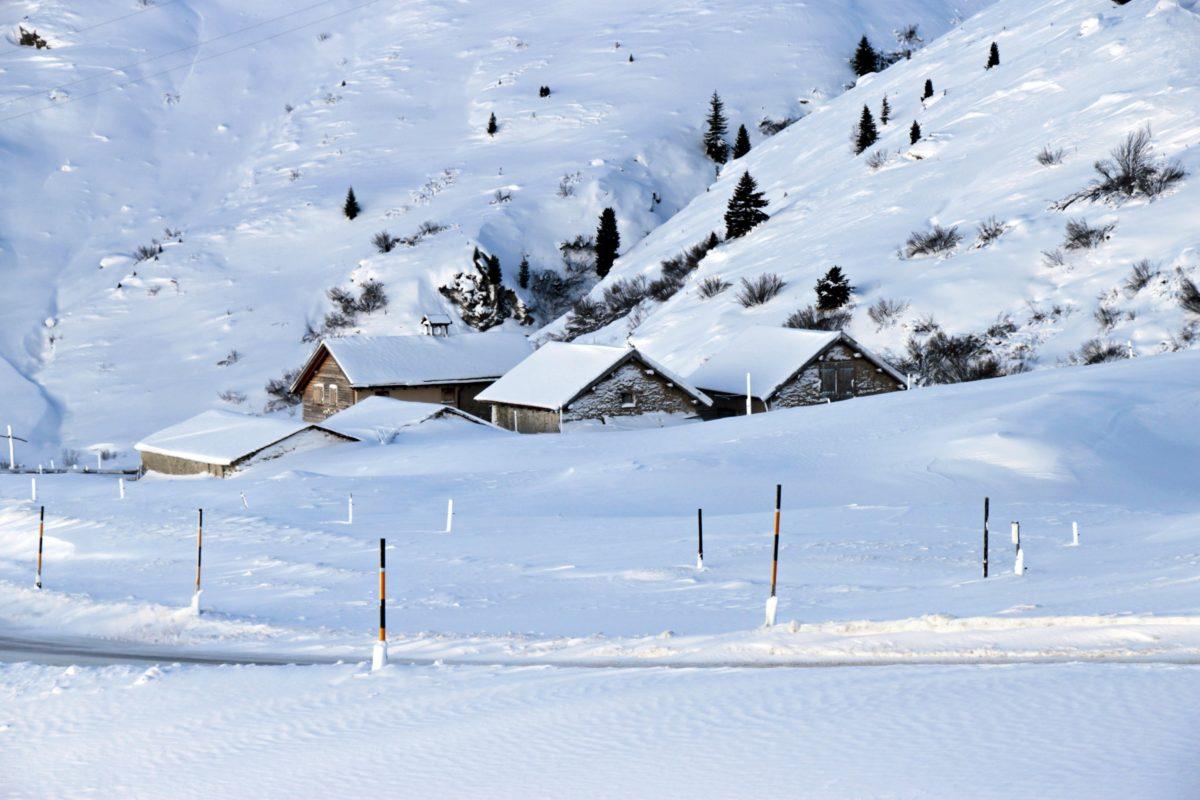 gelo, inverno, paesaggio, freddo, neve, congelati, ghiaccio, montagna