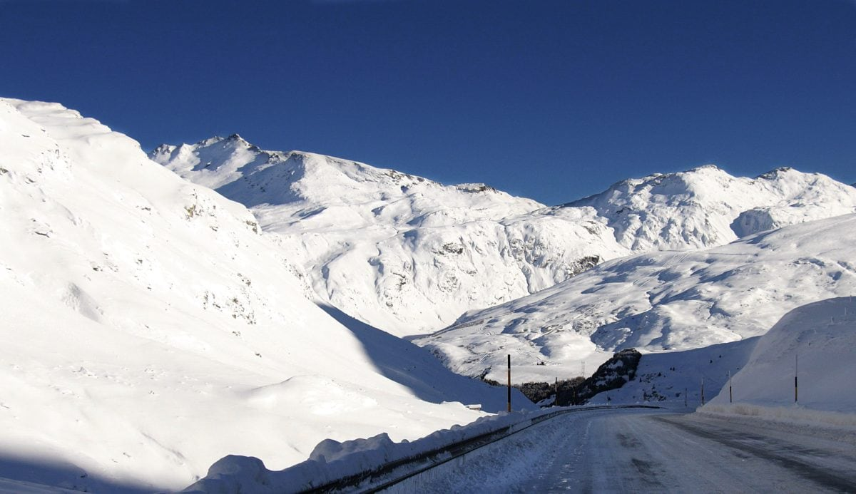 freddo, inverno, montagna, ghiaccio, neve, ghiacciaio, paesaggio, cielo