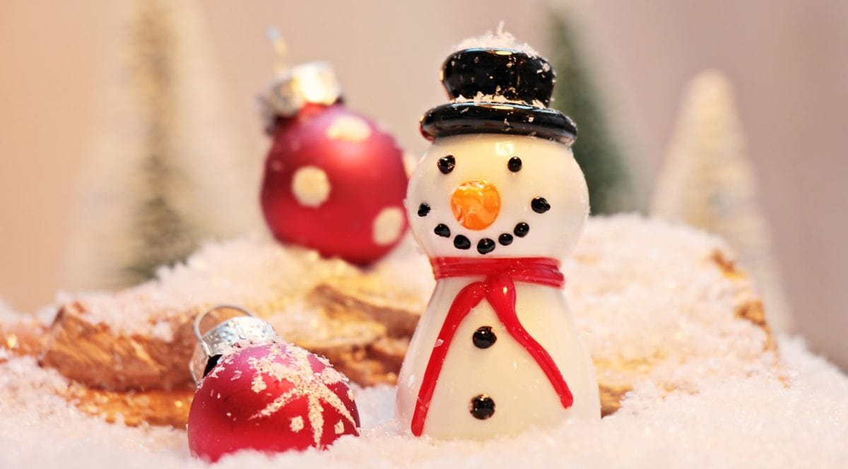 winter, snowman, figure, indoor, decoration, holiday