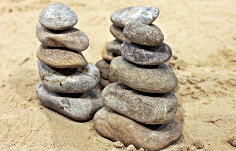 pietra, sabbia, equilibrio, natura, struttura, spiaggia