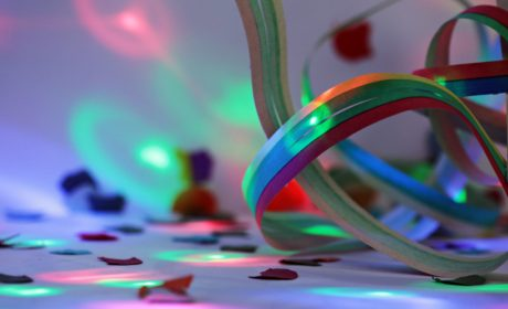 rainbow, design, color, birthday, indoors, colorful, tape, paint
