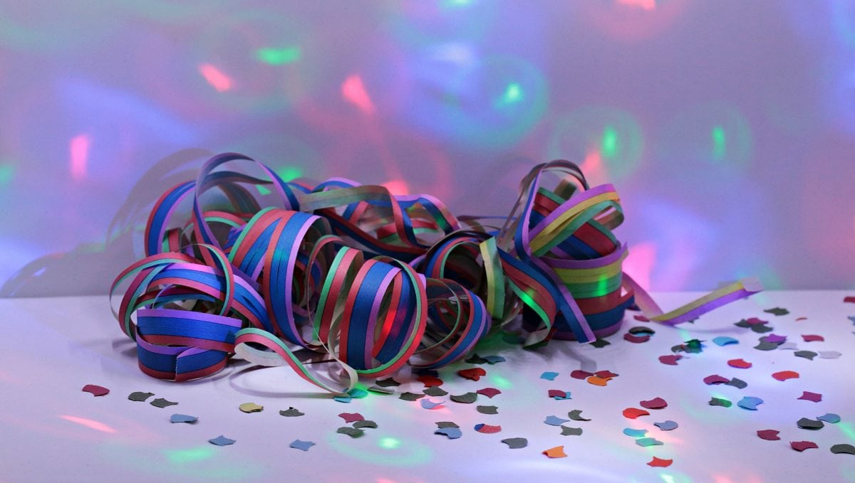 party, birthday, design, tape, food, colorful