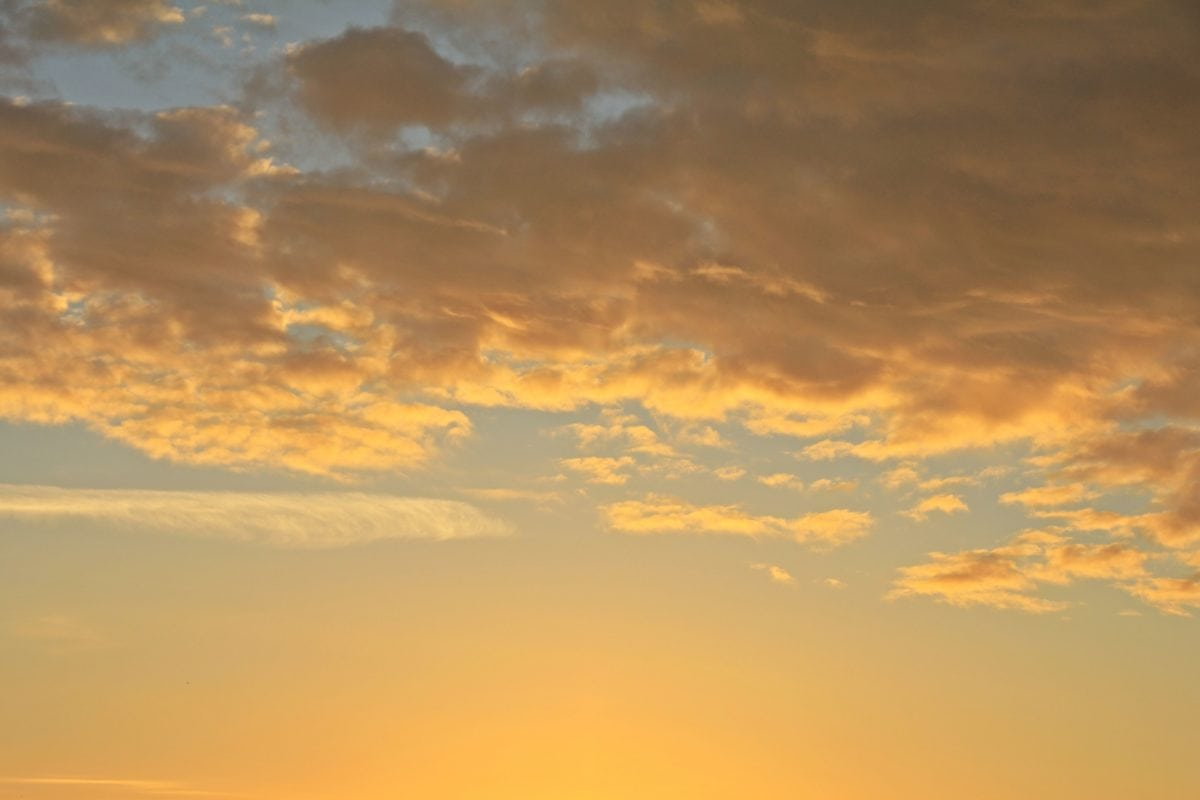nebo, zalazak sunca, sunce, atmosfera, oblak, sunčeva svjetlost