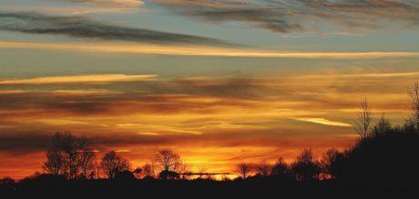 obloha, západ slunce, příroda, úsvit, slunce, atmosféra, východ slunce