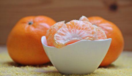 фрукты, пища, цитрусовые, мандарин, витамин, диета