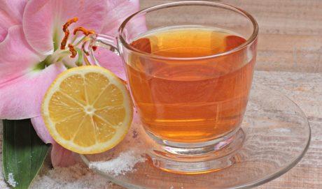 vidrio, fruta, limón, bebida, té, bebida, fruta cítrica, frío, líquido