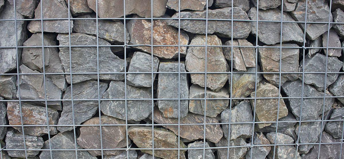 piedra, patrón, textura, cerca, acero
