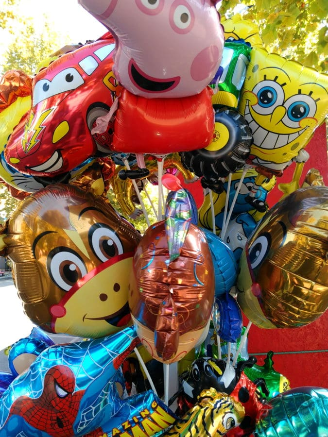colorful, helium, balloon, art, festival, toy, object, outdoor