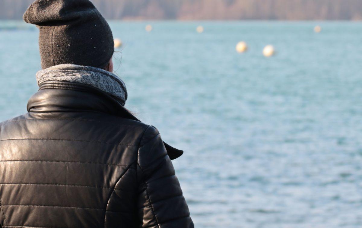 ocean, sea, water, outdoor, person, man, winter