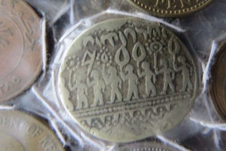 metal coin, currency, money, old, antique, treasure, cash, metal