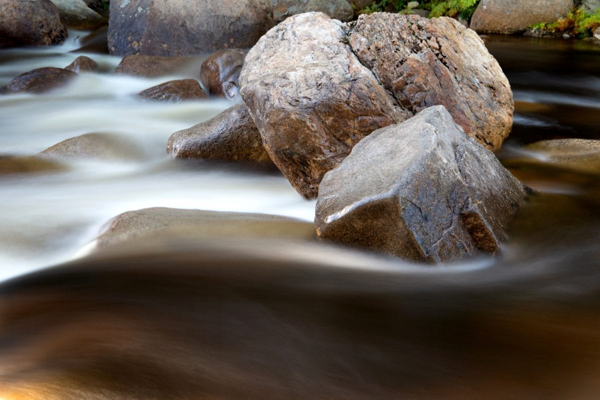 riverbank, stone, river, stream, water, nature, landscape, outdoor, daylight