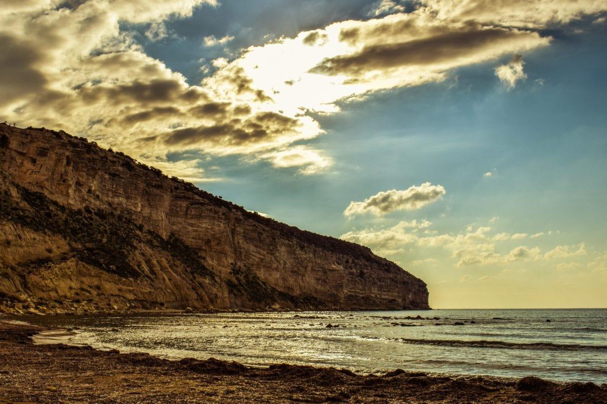sea, seashore, beach, ocean, ecology, blue sky, landscape, sunset, water