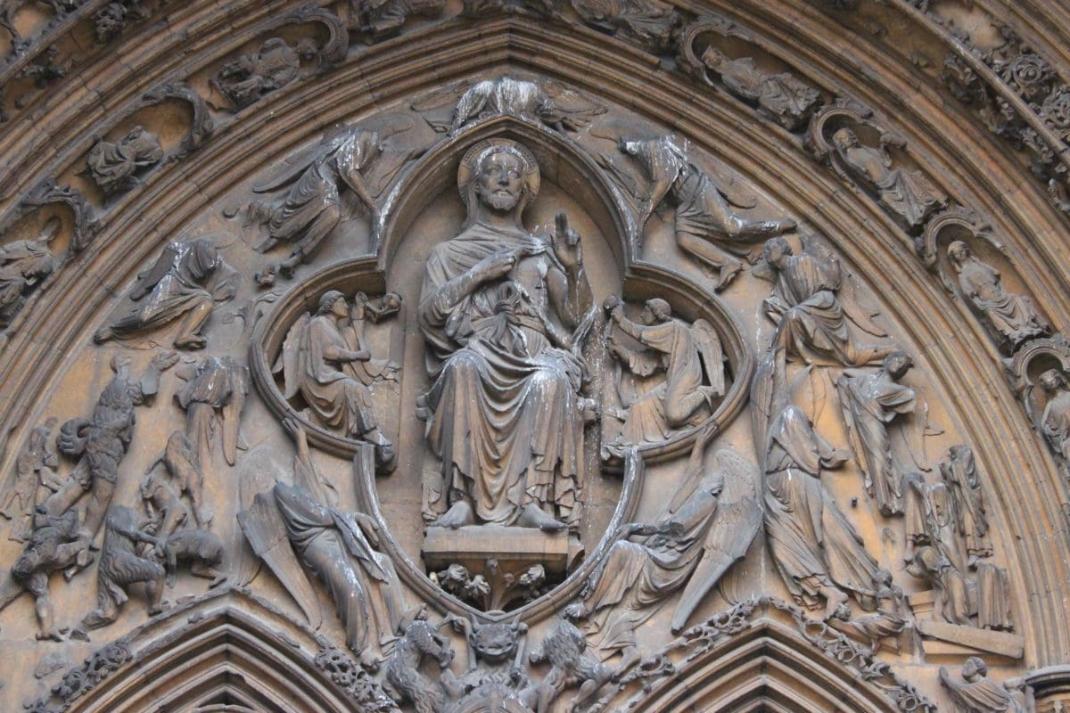 art, church, cathedral, architecture, Gothic, religion, sculpture