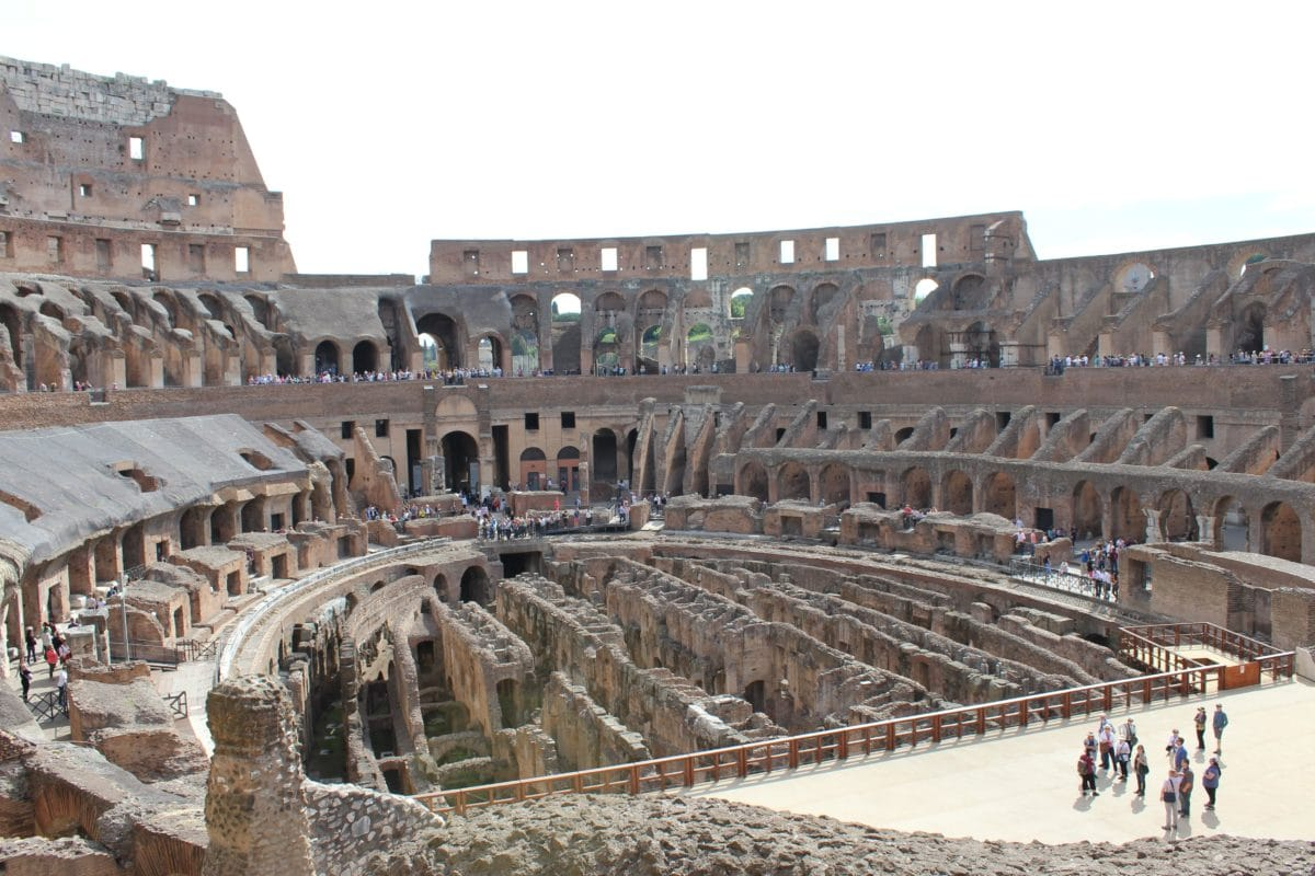 Colosseum, Rome, Italy, amphitheater, tourist attraction, medieval, architecture, old, theater